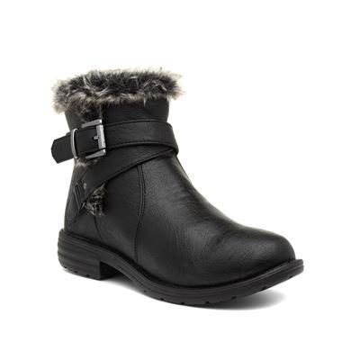 Lisa Womens Black Ankle Boot