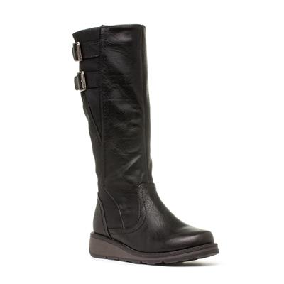 Tyrell Womens Black Knee High Boot