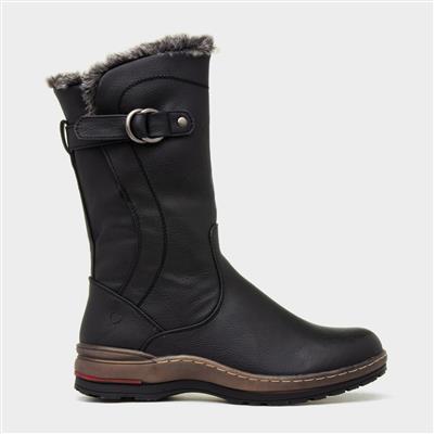 Bramble Womens Black Calf Boot