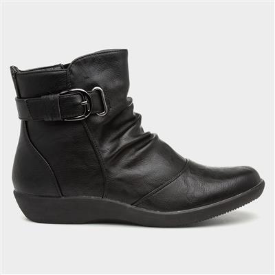 Belinda Womens Black Ankle Boot