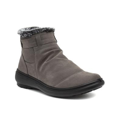 Tammy Womens Grey Wedge Ankle Boot