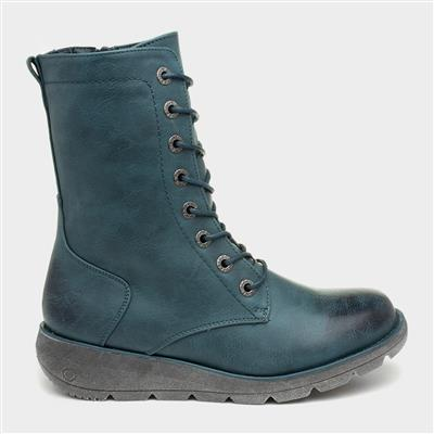 Martina Womens Teal Boot