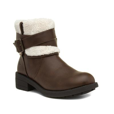 Trepp Womens Brown Ankle Boot