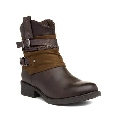 Womens Brown Ankle Boot