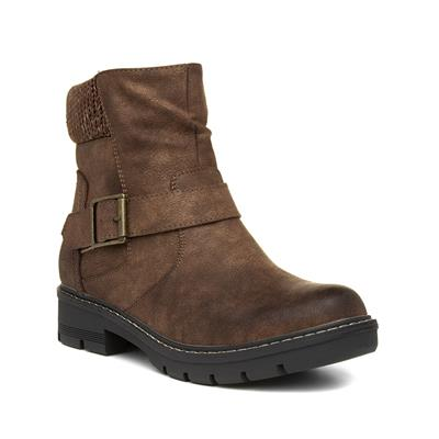 Womens Ankle Boot in Brown