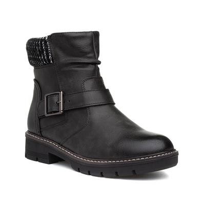 Womens Black Ankle Boot