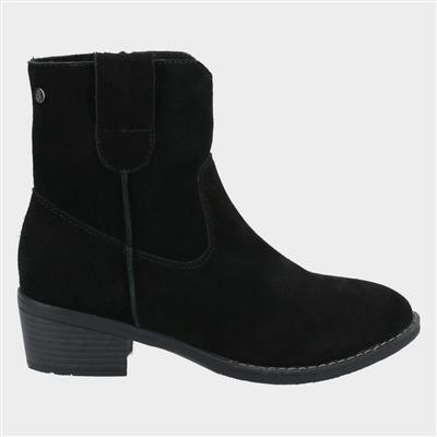 Womens Iva Ankle Boots in Black