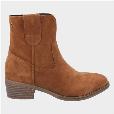 Womens Iva Ankle Boots in Tan