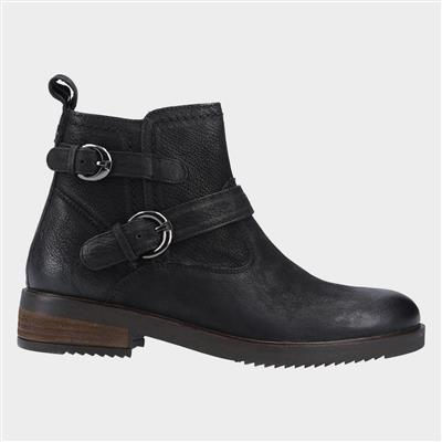 Womens Beth Ankle Boots in Black