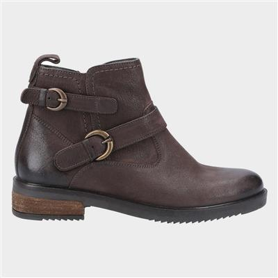 Womens Beth Ankle Boots in Brown