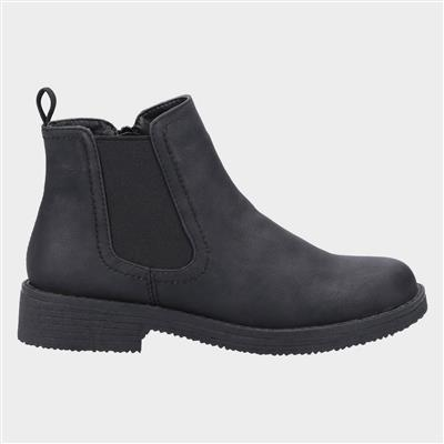 Womens Aria Chelsea Boot in Black