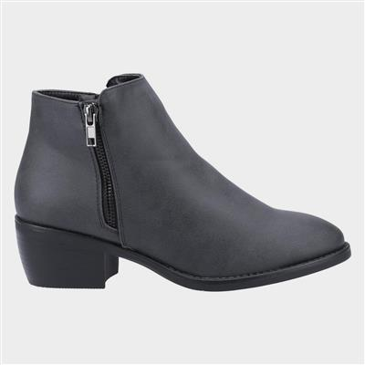 Womens Ruby Ankle Boot in Black