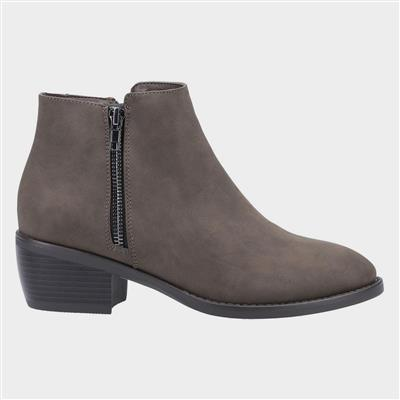 Womens Ruby Ankle Boot in Green