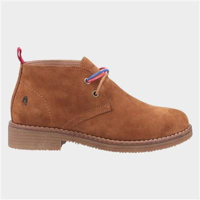 Marie Womens Ankle Boots in Tan