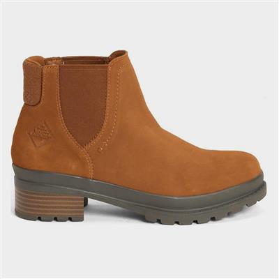 Liberty Chelsea Womens Boots in Tan