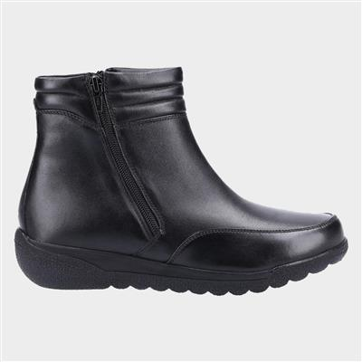 Morocoo Womens Ankle Boot in Black