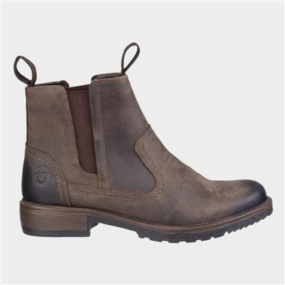 Laverton Womens Ankle Boot in Brown