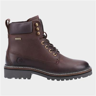 Chipping Womens Brown Leather Boot