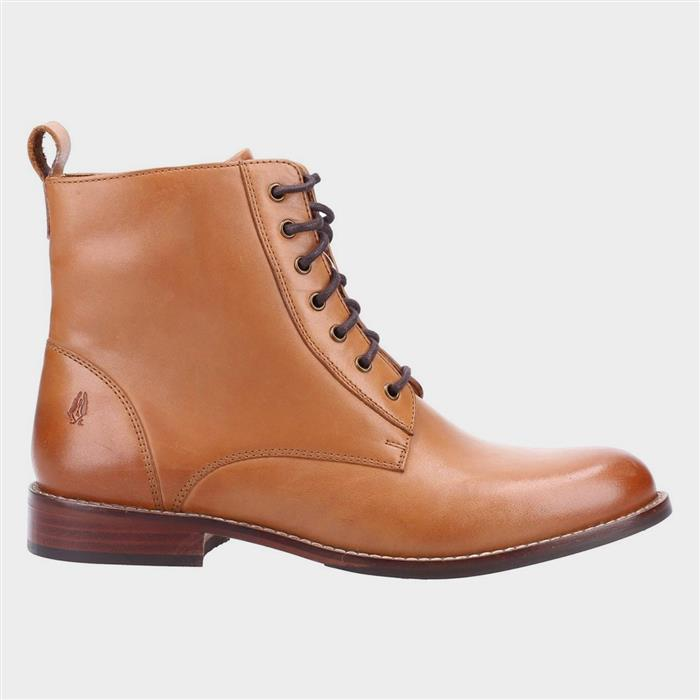 History of Victorian Boots & Shoes for Women Hush Puppies Josie Womens Ankle Boot in Tan £69.99 AT vintagedancer.com