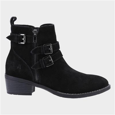 Jenna Womens Ankle Boot in Black