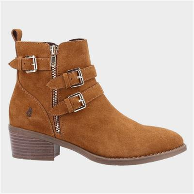 Jenna Womens Ankle Boot in Tan