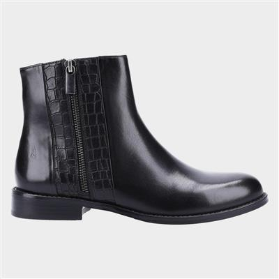 Frances Womens Ankle Boot in Black
