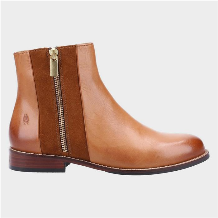 1960s Style Clothing & 60s Fashion Hush Puppies Frances Womens Ankle Boot in Tan £69.99 AT vintagedancer.com