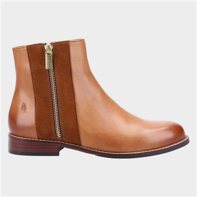Frances Womens Ankle Boot in Tan