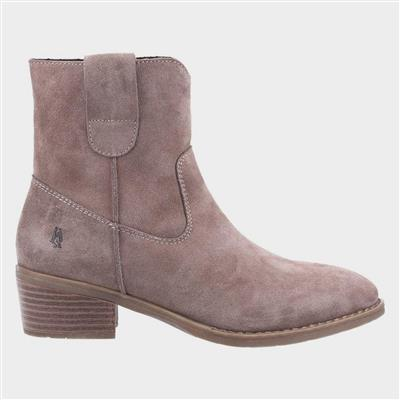 Iva Womens Ankle Boots in Taupe