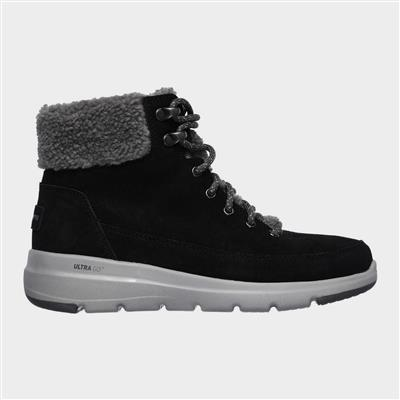 Glacial Ultra Womens Black Suede Boot
