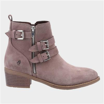 Jenna Womens Ankle Boot in Taupe