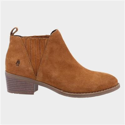 Isobel Womens Ankle Boot in Tan