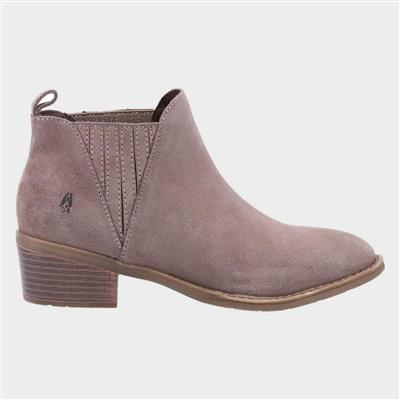 Isobel Womens Ankle Boot in Taupe