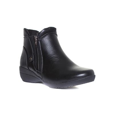 Venice Womens Black Ankle Boot