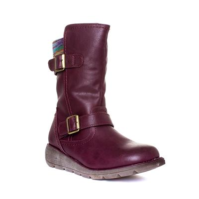 Pacific Womens Purple Ankle Boot