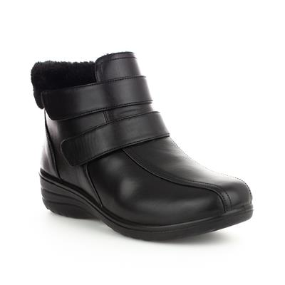 Womens Easy Fasten Ankle Boot