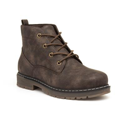 Womens Brown Lace Up Boot
