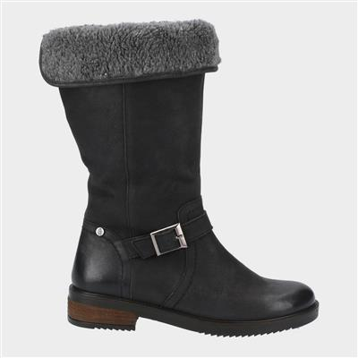 Womens Bonnie Mid Boots in Black