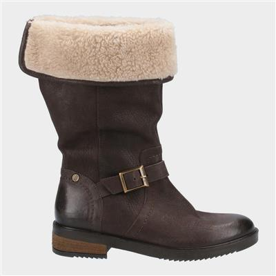 Womens Bonnie Mid Boots in Brown