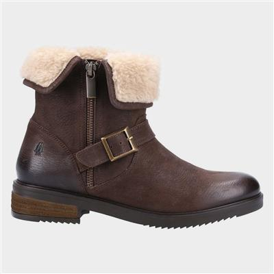 Tyler Womens Ankle Boot in Brown
