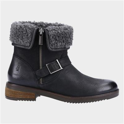 Tyler Womens Ankle Boot in Black