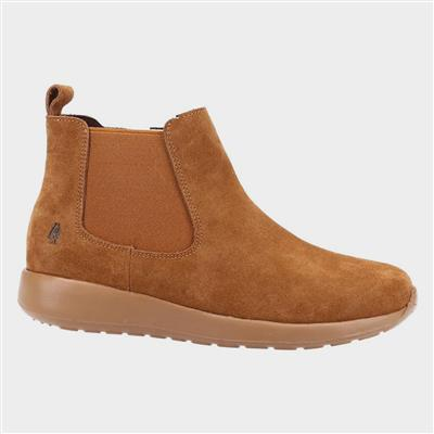 Womens Lana Suede Ankle Boot in Tan