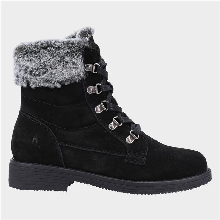 Vintage Winter Retro Boots – Snow, Rain, Cold Hush Puppies Florence Womens Suede Boot in Black £69.99 AT vintagedancer.com