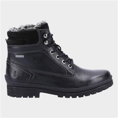 Annay Womens Waterproof Black Boot