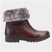 Hush Puppies Alice Womens Waterproof Tan Boot (Click For Details)