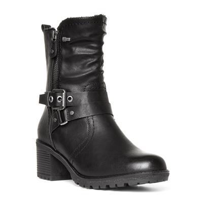 Womens Black Calf Boot