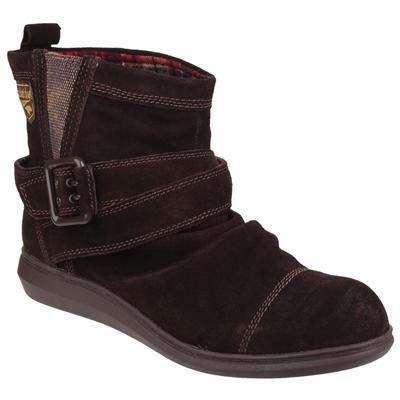 Womens Mint Pull On Boot in Brown