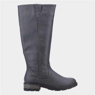 Womens Quinn Knee High Boot in Black