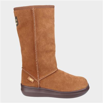 Sugardaddy Womens Boot in Tan