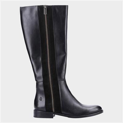 Faith Womens High Leg Boot in Black